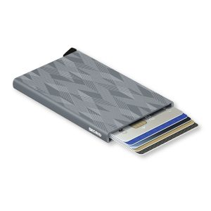 Cardprotector Laser Zigzag Titanium